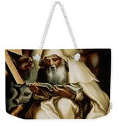 The Temptation Of Saint Anthony Weekender Tote Bag