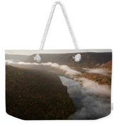 The Tennessee River Cuts Through Signal Weekender Tote Bag