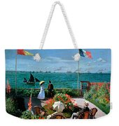 The Terrace At Sainte Adresse Weekender Tote Bag