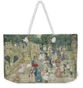 The Terrace Bridge, Central Park Weekender Tote Bag