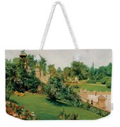 The Terrace Central Park New York Weekender Tote Bag