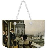 The Terrace Of The Trafalgar Tavern Greenwich Weekender Tote Bag