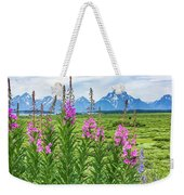 The Tetons Are Grand Weekender Tote Bag