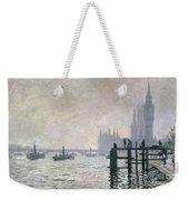 The Thames Below Westminster Weekender Tote Bag