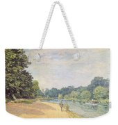 The Thames With Hampton Church Weekender Tote Bag
