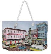 The Theater District Portsmouth Ohio 1948 Weekender Tote Bag