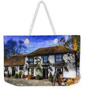 The Theydon Oak Pub Art Weekender Tote Bag
