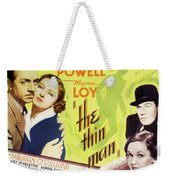 The Thin Man 1934 Weekender Tote Bag