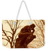 The Thinker Weekender Tote Bag