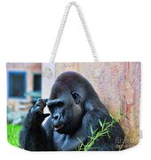 The Thinking Gorilla Weekender Tote Bag