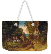 The Three Ages Of Man 1515 Weekender Tote Bag