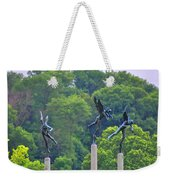 The Three Angels Weekender Tote Bag