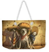 The Three Banditos Weekender Tote Bag by Sean ODaniels
