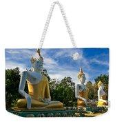 The Three Buddhas  Weekender Tote Bag