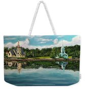 The Three Churches  Weekender Tote Bag