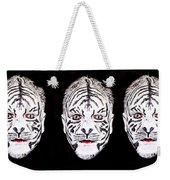 The Three Faces Weekender Tote Bag