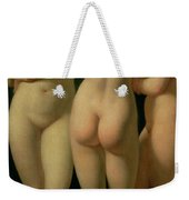 The Three Graces Weekender Tote Bag