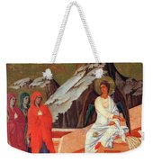 The Three Marys At The Tomb 1311 Weekender Tote Bag