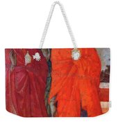 The Three Marys At The Tomb Fragment 1311 Weekender Tote Bag