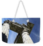 The Three Pillars Weekender Tote Bag