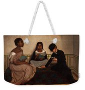 The Three Races Or Equality Before The Law Weekender Tote Bag