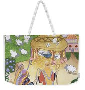 The Three Shepherds Weekender Tote Bag by Tony Todd