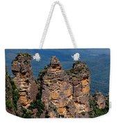 The Three Sisters Katoomba Australia Weekender Tote Bag