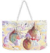 The Three Worlds Weekender Tote Bag