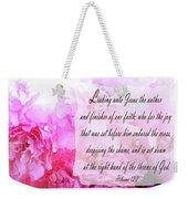 The Throne - Verse Weekender Tote Bag