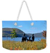 The Tides And The Hudson Weekender Tote Bag