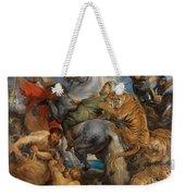 The Tiger Hunt Weekender Tote Bag