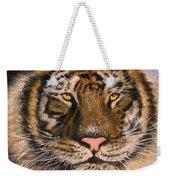 The Tiger, 16x20, Oil, '08 Weekender Tote Bag