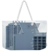 The Time Is...12 10 Weekender Tote Bag