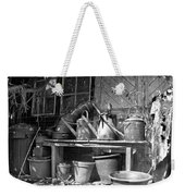 The Tool Shed Weekender Tote Bag by Brian Roscorla