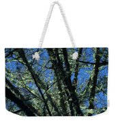 The Top A Glowing Tree Weekender Tote Bag