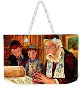 The Torah Scribe Weekender Tote Bag