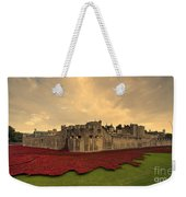 The Tower Poppies  Weekender Tote Bag