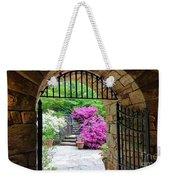 The Tower's Garden Door Weekender Tote Bag