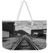 The Tracks Weekender Tote Bag by Break The Silhouette