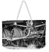 The Train Goes By Weekender Tote Bag
