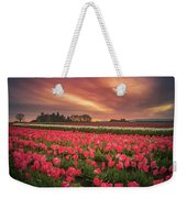 The Tranquil Morning Before Sunrise Weekender Tote Bag