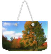 The Transition From Summer To Fall. Weekender Tote Bag