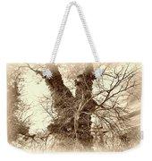 The Tree - Sepia Weekender Tote Bag