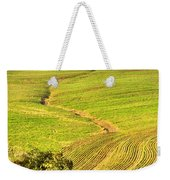 The Tree And The Furrows Weekender Tote Bag