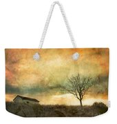 The Tree And The Roof Top Weekender Tote Bag