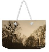 The Trees With Mistletoe. Weekender Tote Bag
