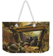 The Trenches Weekender Tote Bag by Andrew Howat