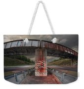 The Trestle With The Pestle Weekender Tote Bag