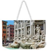 The Trevi Fountain In The City Of Rome Weekender Tote Bag