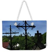 The Trinity Of A Different Kind Weekender Tote Bag